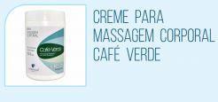 Creme para Massagem Corporal - Café Verde